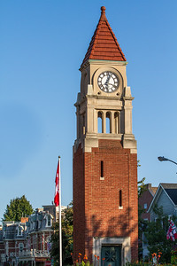 The Clock tower in Niagara on the lake