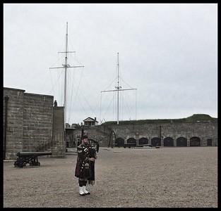 Beautiful music in the Citadel, Halifax.