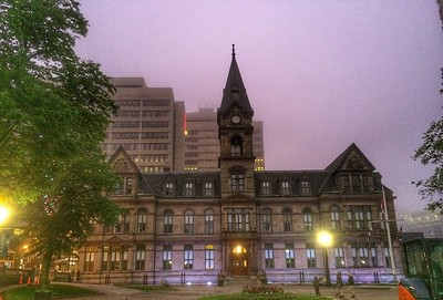 Halifax City Hall, Grand Parade, Halifax, Nova Scotia.