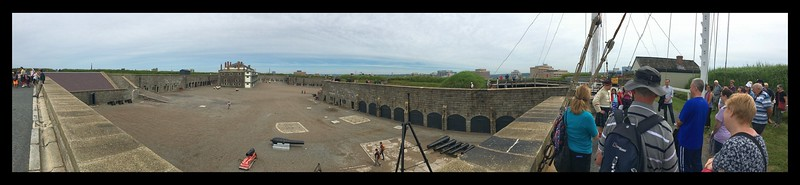 Panorama of the Citadel, Halifax, Nova Scotia.