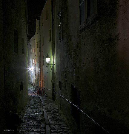 Narrow Streets Of Cobblestone