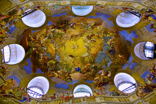 Vienna National Library Ceiling