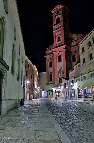 Passau At Night