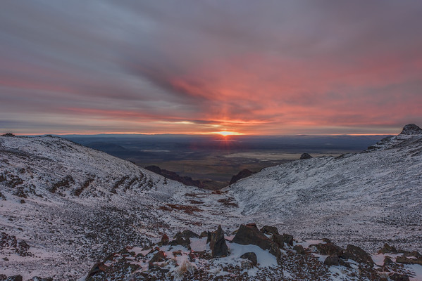 Steens Mountain Sunrise