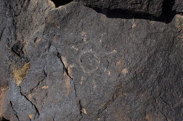 Petroglyph (probably modern)