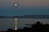 Full Moon rise over Mono Lake 9/30/2012