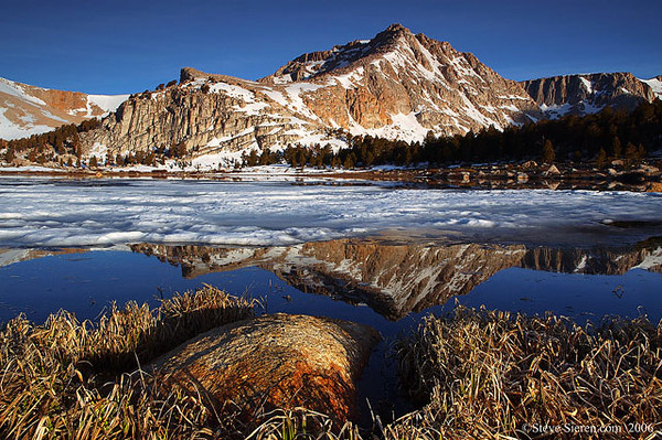 Prestine Sierra John Muir Wilderness - Eastern Sierra Nevada Mountain Range, California