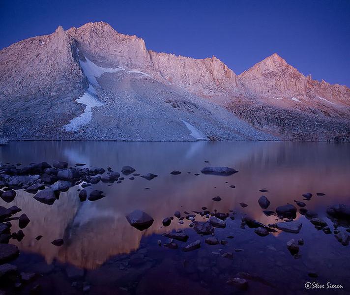 Royce and Feather Peaks Eastern Sierra