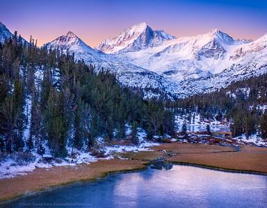 Bear Creek Spire - Little Lakes Valley Rock Creek - Eastern Sierra - California Mountains