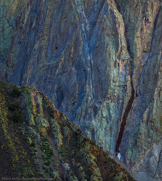 Mt Morrison Sierra Nevada Abrstract 2