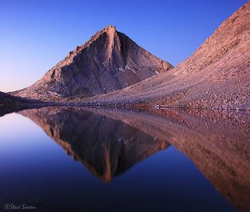Merriam Peak John Muir Wilderness Eastern Sierra Nevada