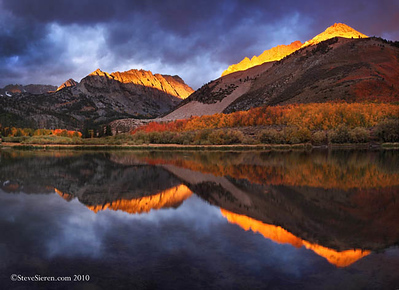 Storm Light of Autumn North Lake, Eastern Sierra Nevada Range California