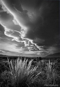 Skies of the Owens  Owens Valley, California Limited Edition Print