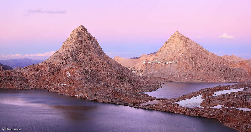 Treasure Peak in Royce Lake Basin