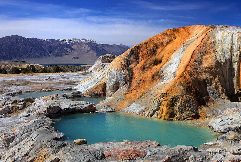 ©Steve Sieren 2011 - Hot Springs in the Eastern Sierra