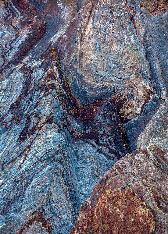 Mt Laurel Abstract Detail - Sierra Nevada Mountains 5
