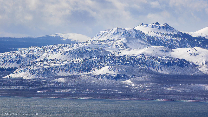 Mono Craters over Mono Lake