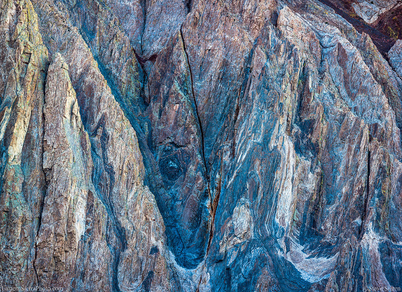 Mt Laurel Abstract Detail - Sierra Nevada Mountains 2