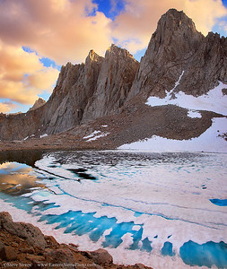 Mt Whitney Glacial Water Eastern Sierra Giga Pan