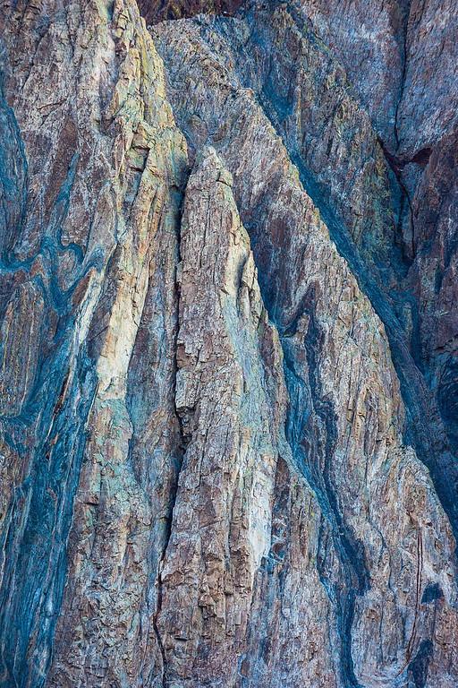 Mt Laurel Abstract Detail - Sierra Nevada Mountains 4