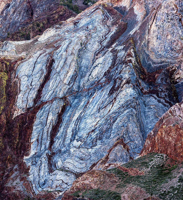 Mt Laurel Abstract Detail - Sierra Nevada Mountains 6