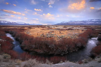Owens Valley U-turn