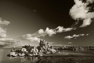 Morning Clouds over Mono Lake #2
