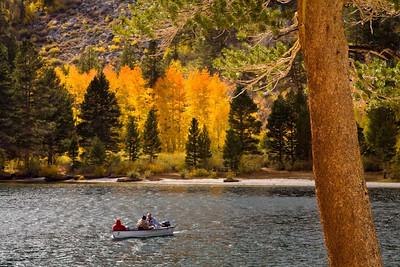 Boating at Rock Creek Lake