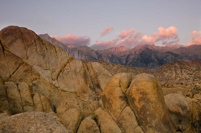 Sunrise over Alabama Hills_2