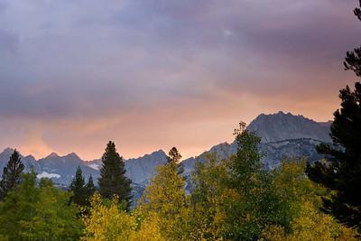 Sunset Over the Eastern Sierras