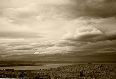 Laticular Clouds Over Mono Lake