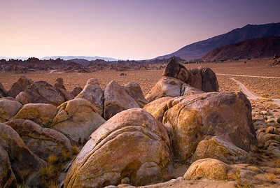 Alabama Hills at Dawn