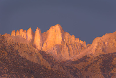 Mt Whitney at Dawn