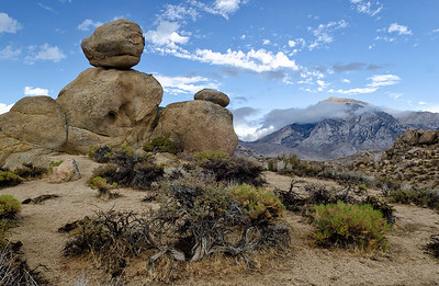 Balanced Rocks in the Buttermilks.