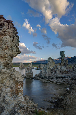 We photographed at Mono Lake for parts of three days; seven separate shoots in all: one afternoon, two sunsets, two starshoots, and two sunrises. I needed all those opportunities to figure out how I could best photograph the amazing tufa structures. (Merit, Travel Print, N4C Nov 2012)