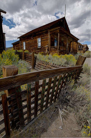 Bodie State Historic Park. Bodie was a booming mining town of 10,000 people at its height.