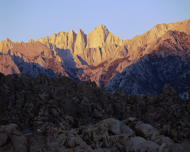 Mt. Whitney view from Alabama Hills