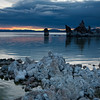 Early light, Mono Lake