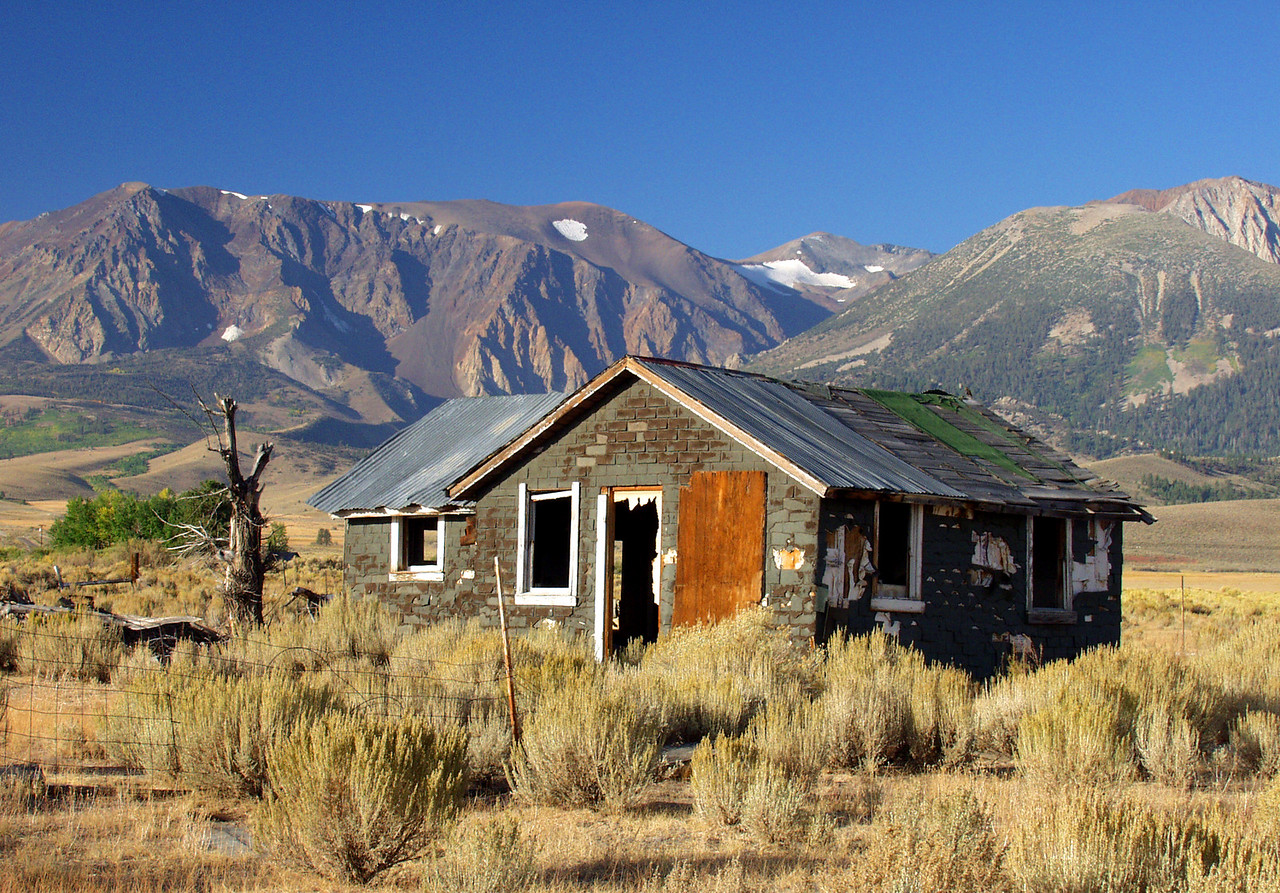 Old shack in the Eastern Sierras