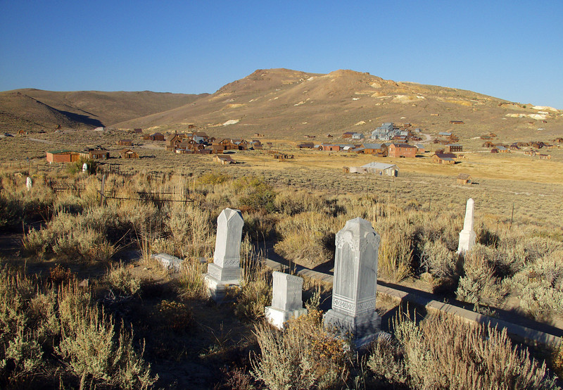 Bodie graveyard
