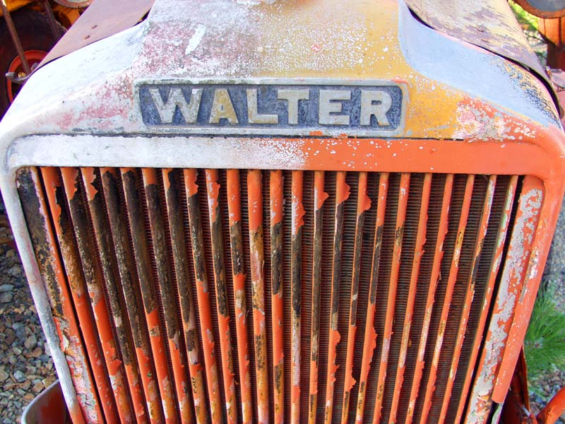 Walter truck grill