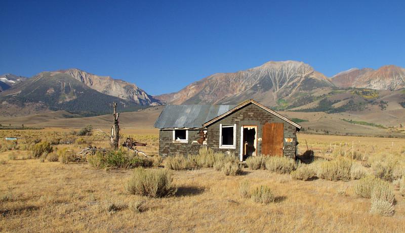 Old shack in the Eastern Sierras