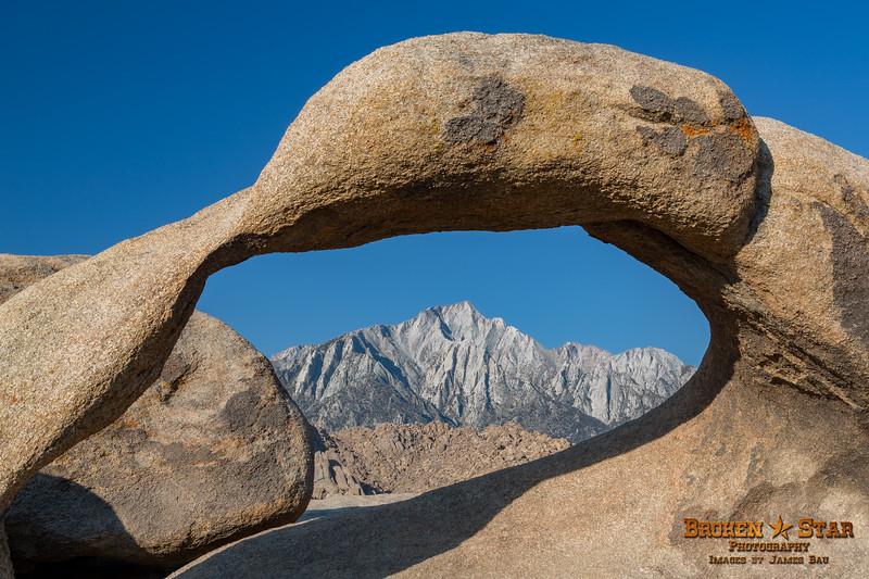Mount Whitney through Mobius Arch