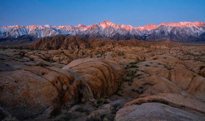 """Eastern Sierra sunrise"""