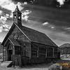 God Rays Over Methodist Church