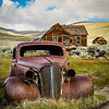 Abandonded car in Bodie, CA
