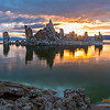 South Tufa @ sunrise.  Mono Lake, CA
