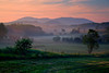Missisquoi River Valley sunrise, just south of Mansonville, Eastern Townships of southern Quebec Lee 3 Stop Soft GND - Singh-Ray LB ColorCombo