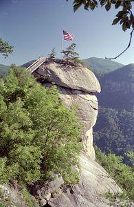 Chimney Rock Park, North Carolina, June 2001