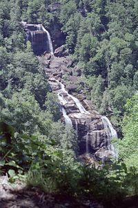 Whitewater Falls, North Carolina, June 2001